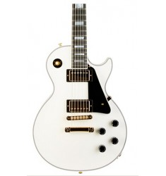 Alpine White  Cibson Custom C-Les-paul Custom