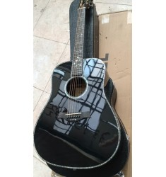 Chaylor 910ce acoustic guitar black