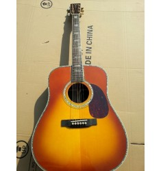 Martin D45 acoustic guitar sunburst color