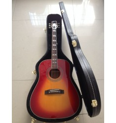 Acoustic hummingbird Cherry Sunburst