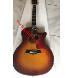 Chaylor 914-CE acoustic guitar grand auditorium-sunburst