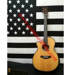 Left handed Chaylor ps14ce grand auditorium acoustic guitar