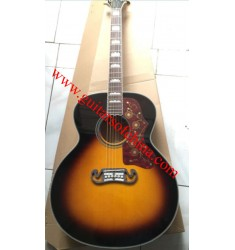 Chibson j 200 acoustic guitar sunburst