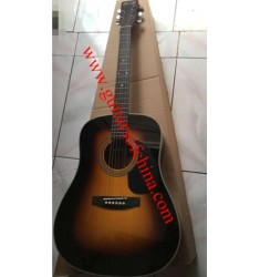 Martin D28 dreadnought acoustic guitar-sunburst