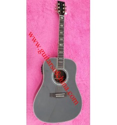 Martin D45 acoustic-electric guitar black