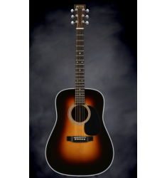 Martin HD-28 Sunburst Guitar with Case