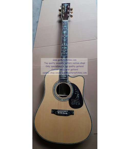 Custom Cutaway Dreadnought D 45 Martin For Sale(High-end)