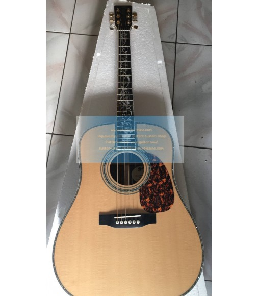 Custom Tree of Life Martin D-45 Dreadnought Guitar(2018)