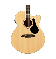 Alvarez Artist Series AJ80CE Jumbo Acoustic-Electric Guitar Natural
