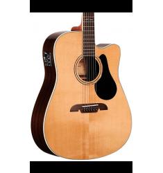 Alvarez Artist Series AD70CE Dreadnought Acoustic-Electric Guitar Natural