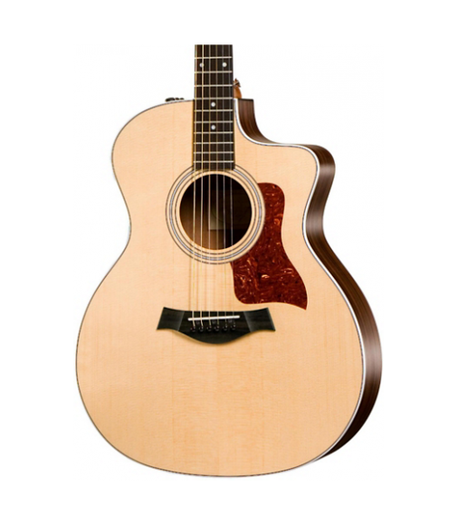 Taylor 200 Series 214ce Grand Auditorium Acoustic-Electric Guitar Natural