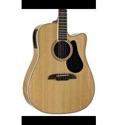 Alvarez Artist Series AD90CE Dreadnought Acoustic-Electric Guitar Natural
