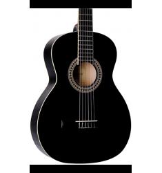 """Giannini GN-6 N 36"""" Scale Classical Guitar Gloss Black"""