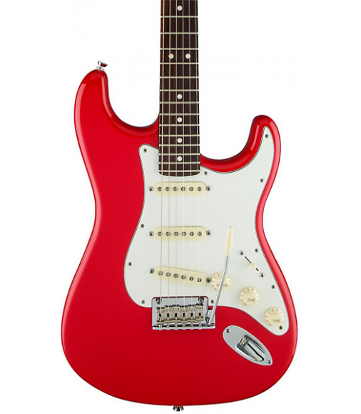 Fender Limited Edition American Standard Stratocaster with Rosewood Neck Hot Rod Red