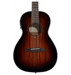 Alvarez AP660 Parlor Acoustic-Electric Guitar Shaded Honey Burst