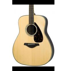 Yamaha FG730S Solid Top Acoustic Guitar Natural