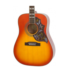 Cibson Hummingbird PRO Acoustic-Electric Guitar Faded Cherry