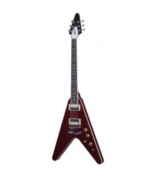 Cibson Flying V T in Wine Red