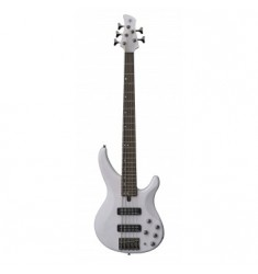 Yamaha TRBX505 Bass Guitar in Translucent White
