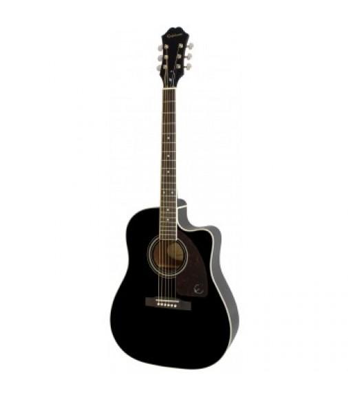 Cibson AJ-220SCE Electro Acoustic Guitar, Ebony