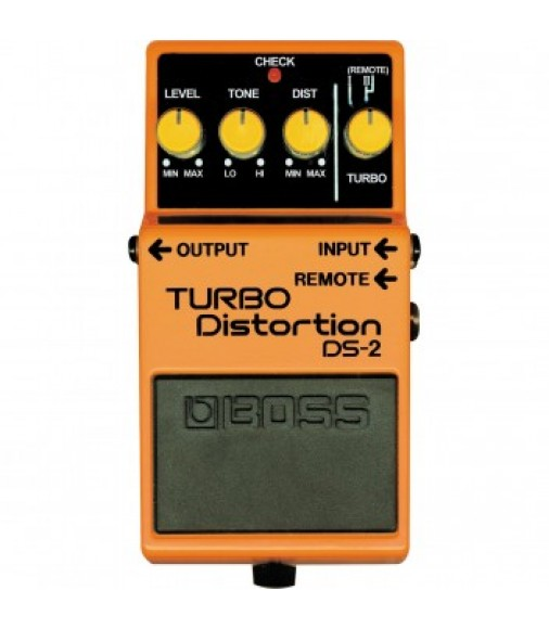 Boss DS2 Turbo Distortion Guitar Effects Pedal