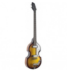 Eastcoast 4 String Violin Shaped Electric Bass Guitar in Sunburst