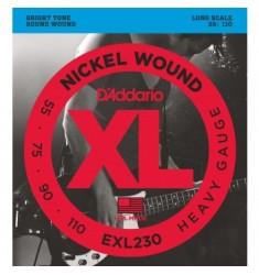 D'Addario EXL230 Wound Bass Guitar Strings, Heavy, 55-110, Long Scale
