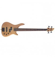 Eastcoast BC300 Fusion Electric Bass Guitar in Natural Satin