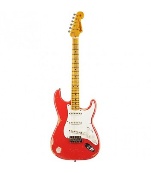 Fender AM 1956 Stratocaster Relic Electric Guitar Fiesta Red