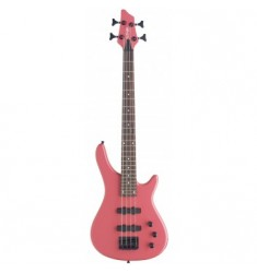 Eastcoast BC300 Fusion 3/4 Electric Bass Guitar in Pink