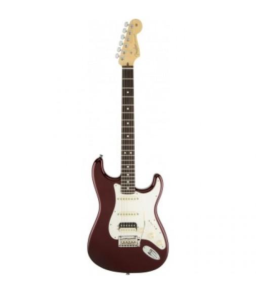 Fender American Stratocaster HSS Shawbucker in Bordeux Metallic