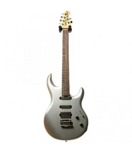 Musicman Luke HSS Electric Guitar in Sterling Silver