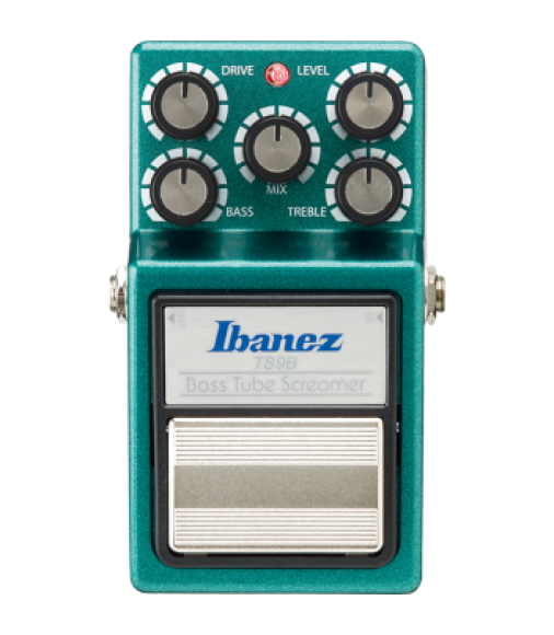 Ibanez TS9B Distortion Bass Guitar Effects Pedal