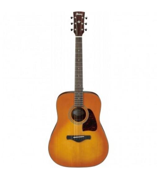 Ibanez AW400-LVG Artwood Guitar - Light Violin Sunburst High Gloss