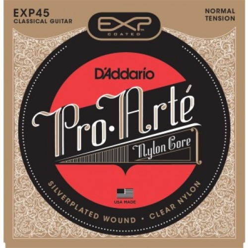 d 39 addario exp45 coated classical guitar strings normal tension guitars china online. Black Bedroom Furniture Sets. Home Design Ideas