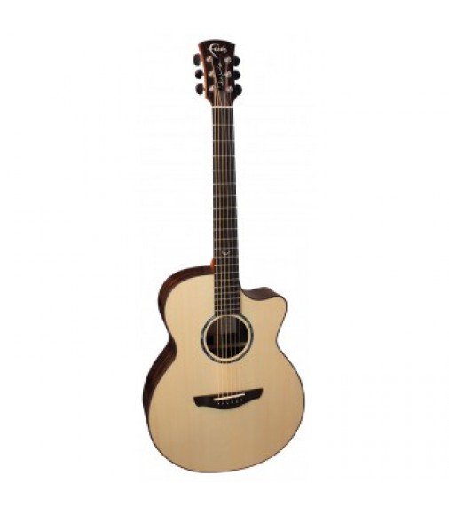 Faith FSGVEBY Venus Signature Acoustic Guitar Macassan Ebony