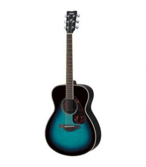Yamaha FS720S Cobalt Blue Aqua Solid Spruce TOP Acoustic