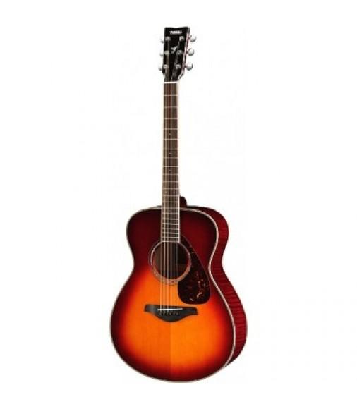 Yamaha FS740 Flame Maple Vintage Cherry Burst Acoustic