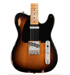 2-Color Sunburst  Fender Road Worn '50s Tele