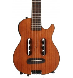 Acoustic-electric Travel Guitar - Natural  Traveler Guitar Escape Mark III Mahogany