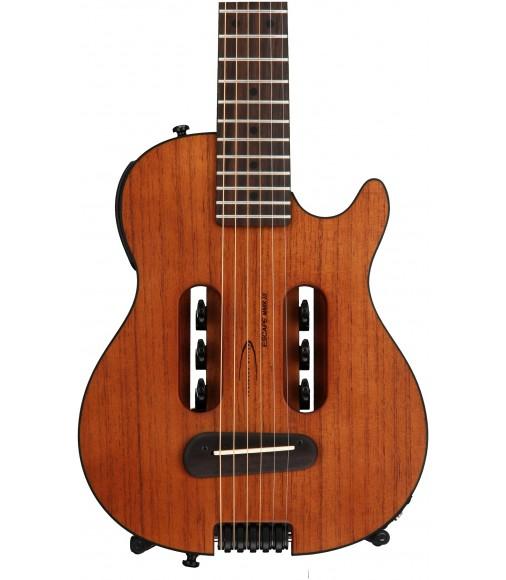 Acoustic-electric Travel Guitar - Natural  Traveler Guitar Escape Mark III Mahogany
