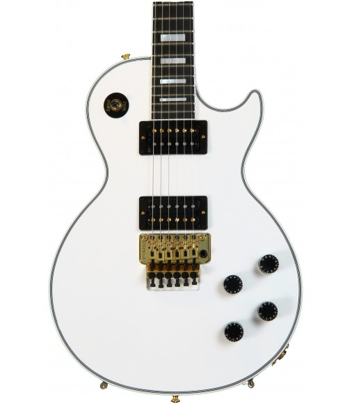 Floyd Rose, Antique White  Cibson Custom C-Les-paul Axcess Custom