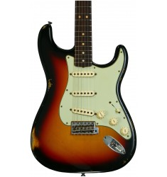 3-Color Sunburst  Fender Custom Shop 1963 Time Machine Relic Stratocaster