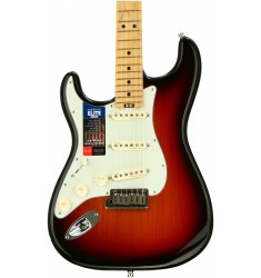 3-Tone Sunburst, Maple  Fender American Elite Stratocaster, Left-Handed