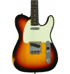 3-color Sunburst  Fender Custom Shop 1963 Time Machine Relic Telecaster