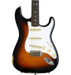 3-Color Sunburst  Fender Custom Shop 1970 Time Machine Relic Stratocaster