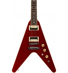 Wine Red, Chrome Hardware  Cibson Flying V 2016, High Performance