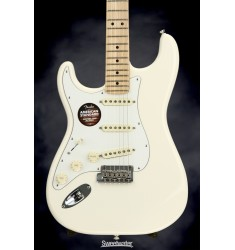 Olympic White, Maple  Fender American Standard Stratocaster, Left Handed