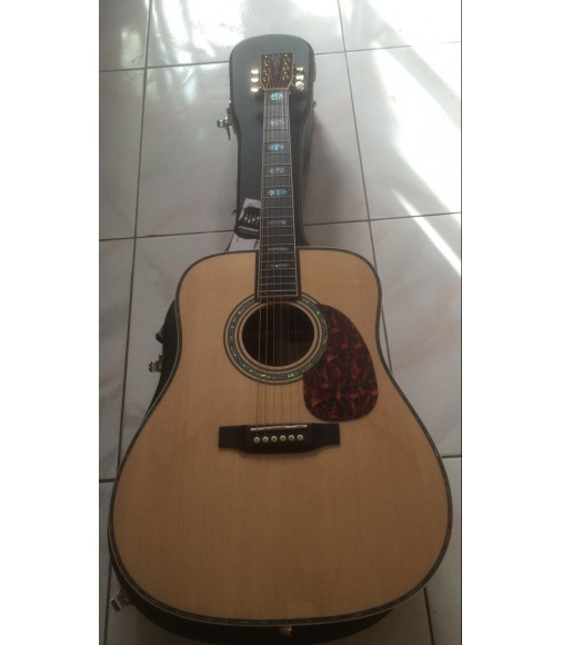 Custom best acoustic Martin d-45 standard series guitar