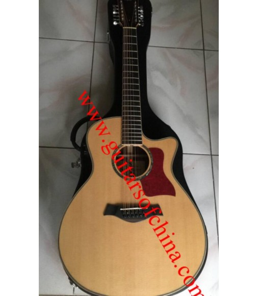 Chaylor 856ce 12 string acoustic guitar